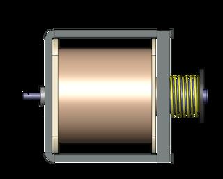 تغییر موقعیت بوبین سولونویید بر اساس تغییرات فنر - ساخت بوبین سفارشی - شرکت سپهر صنعت مبتکر پارس